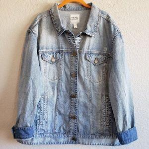 Rachel Hollis | Over Sized Slouchy Denim Jacket